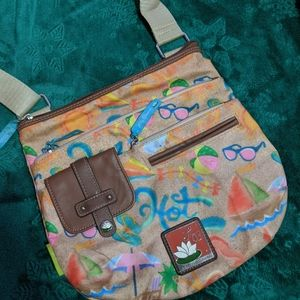 Beachy Lily Bloom shoulder bag